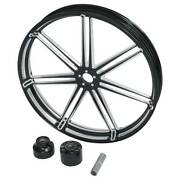 30 X 3.5and039and039 Front Wheel Rim Hub Single Disc Fit For Harley Road King Glide 08-21