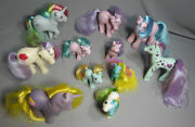 My Little Pony G1 Hasbro Lot 11 Ponies Rare 1980and039s Hong Kong