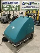 Tennant S8 Compact Battery-powered Walk-behind Sweeper