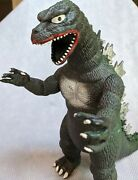 Vintage 1985 13 Godzilla Posable Action Figure By Imperial Toys