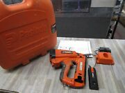 Paslode 16-ga Cordless Angled Finish Nailer 900600 With Case And Accessories