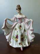 Royal Doulton Pretty Ladies 7andrdquo Kathryn Old Country Roses