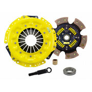 Act Clutch Kit For Nissan 280zx 1979 1980 1981 1982 1983 Xt/race Sprung 6 Pad