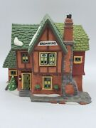 Department 56 Retired Dickensand039 Village Series Browning Cottage 5824-6
