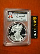 2016 W Proof Silver Eagle Pcgs Pr70 Dcam From The Congratulations Set