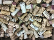 450 Wine Corks Variety Of Brands - Natural - Used- Free Shipping