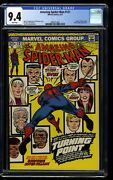 Amazing Spider-man 121 Cgc Nm 9.4 White Pages Death Of Gwen Stacy