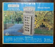Phone Booth Creatology Wooden Puzzle 3 Sheets New Sealed Ages 6+