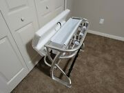 New 38 Leaning Post For Center Console Boats Aluminum Rod Holder Marine Cup...