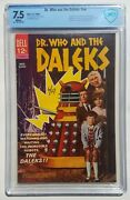 Doctor Who And The Daleks Cbcs 7.5 Dell Movie Classics 1966 1st Appearance Vf-