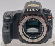 Sony Slt-a37 16.1mp Slt Camera Body - 5.5k Accs - Only Works With Memory Stick