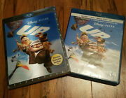 /2377 Up Disney Pixar 3d, 2d Blu-ray And Dvd W/ Lenticular Slipcover Rare And Oop