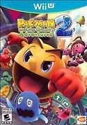 Disc Only -pacman And Ghostly Adventures 2 Wii U Action / Adventure Video Game