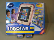 🔥 Vtech Innotab Educational Learning Tablet - Plus 2 Games, Disney And Cars 2 🔥