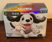 Zoomer Playful Pup. Responsive Robotic Dog Voice Recognition And Realistic Motion.