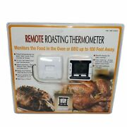 Maverick Remote Roasting Thermometer Monitors Food Oven/bbq Up To 100 Feet Away