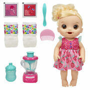 Baby Alive Magical Mixer Baby Doll Strawberry Shake Blender Accessories