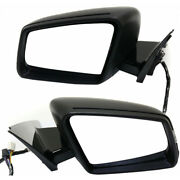 For Mercedes-benz S550/s600 Mirror 2010-2013 Lh And Rh Pair Paintable W/ Memory