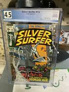 Silver Surfer 13 Pgx 4.5..1st App Of Doomsday Man..the Dawn Of The Doomsday Man