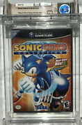Sealed Wata 9.6 A+ Sonic Gems Collection Nintendo Gamecube 2005