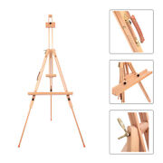 Adjustable Frame Easel Stand Portable Beech Wood Tripod Artist Sketch Painting