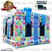 13x13ft Commercial Inflatable Gift Package Birthday Bounce House With Air Blower