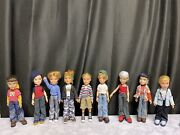 Bratz Doll Lot Of 18. 9 Boys 9 Girls- Accessories, Clothes, Small Dolls, Posters