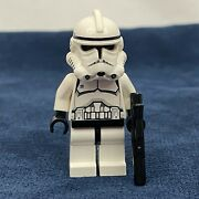 Lego Star Wars Clone Trooper With Blaster Phase 1 Episode 2 Minifigure 4482 7163
