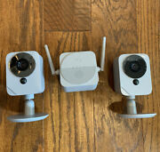 Adt Blue Outdoor Camera Set And Chime