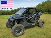 Partial Enclosure For Polaris Rzr Pro Xp - Hard Windshield, Roof, And Rear Window
