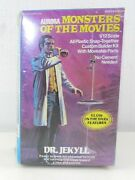 1975 Aurora 654 Dr. Jekyll Monsters Of The Movies 1/12 Scale Glow Model T721