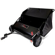 Lawn Leaf Sweeper Tractor Tow-behind Grass Catcher 42 In. 6-brush