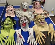 Death Studios/horror Dome Mask/hand/costume Lot, For Haunted House Attraction