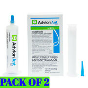 Advion Ant Gel Bait - 2 Tube With Free 2 Plunger And 2 Tips Fast Free Shipping