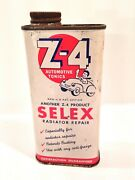 Vintage 1943 - 1963 Selex Z-4 Handy Oiler Style Advertising Can Rare Find