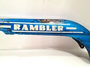 Vintage 1950and039s 60and039s Rambler Bicycle Original Chain Guard Look And Read