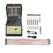 Auto Ultrasonic Fuel Injector Cleaner And Tester 6 Cylinder 100w Made In Taiwan