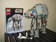 Lego Star Wars 4483 Episode Iv-vi At-at 100 Complete Set With Figures - No Box