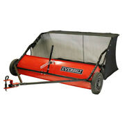 Lawn Leaf Sweeper Tractor Tow-behind Grass Catcher 48 In. 15 Cu. Ft.