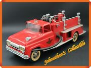 Jcandc - Vintage 1960and039s Tonka Toys No. 5 T.f.d. Fire Truck With Fire Hydrant
