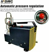 2hp Air Compressor 4500psi Adjustable Pressure For Pcp Paintball Tank Refill