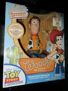Disneypixar's Toy Story Talking Woody 'collector's Edition' Upc 064442640125