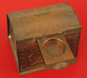 Vintage Pirate Treasure Chest Bank With Coin Slot Souvenir Onset Massachusetts