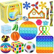 25 Pack Sensory Toys Set Relieves Stress And Anxiety Fidget Toy Children Adults
