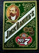 Jack Daniels Jack Of Spades Playing Card Swap Card Old No 7 Brand