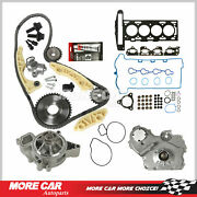 Head Gasket Timing Chain Water Oil Pump Gear Oiler Bolts For 07-08 Chevy Hhr 2.2