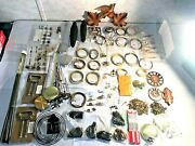 Large Lot Clock Maker Coo Cuckoo Parts Repair Cable Hermle Weights Chains Supply