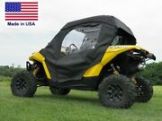 Can Am Maverick Enclosure For Existing Windshield - Doors Roof And Rear Window