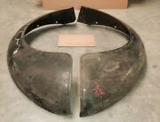 Nos Gm 1937 1938 Chevy Panel Canopy Express 1-1/2 Ton Rear Fenders Pick Up Only