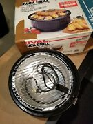 Vintage Rival Electric Smokeless Indoor Crock Grill Stoneware - 5750